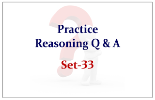 Practice Reasoning Questions for Upcoming Bank PO and Clerk Exams