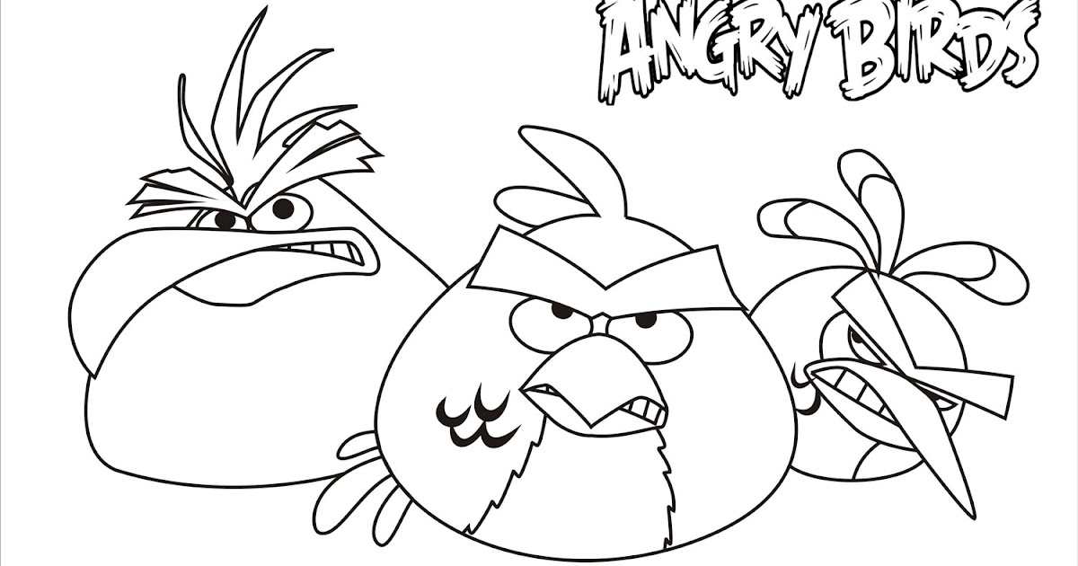 angry birds coloring pages game - photo#19