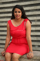 Shravya Reddy in Short Tight Red Dress Spicy Pics ~  Exclusive Pics 101.JPG
