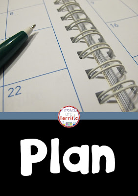 Teacher Tip for starting off the year well: Plan!