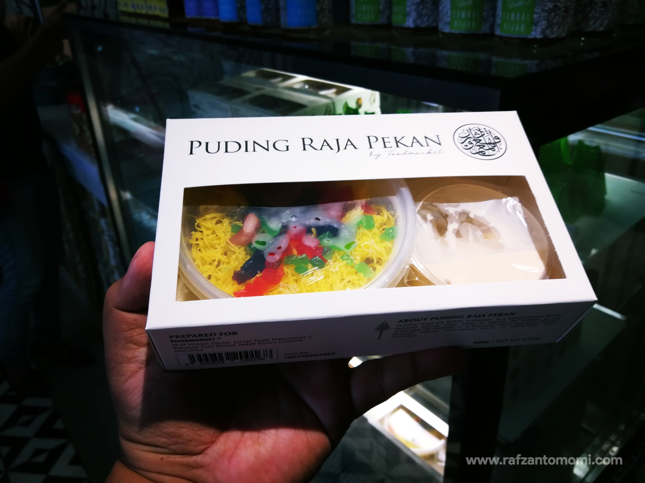 Puding Raja Pekan by Food Market