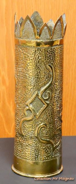 Centenaire 14-18 : Douille sculptée (1915)