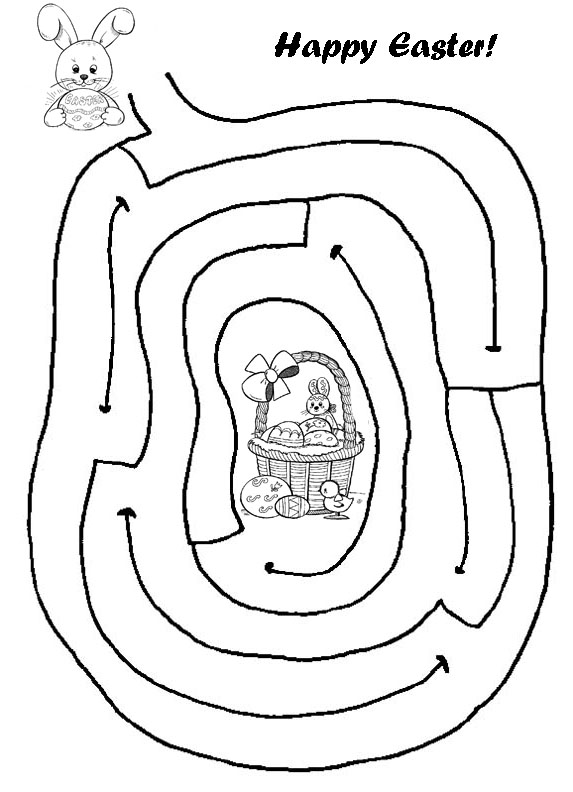 Easter coloring pages games ~ EASTER COLOURING: EASTER ACTIVITY SHEET AND PAPER CRAFT