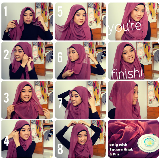 Hijab Tutorial Paris 2013 Simple