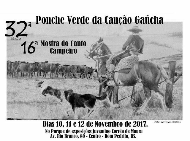 32º Ponche Verde da Canção Gaúcha teve início nesta  sexta-feira