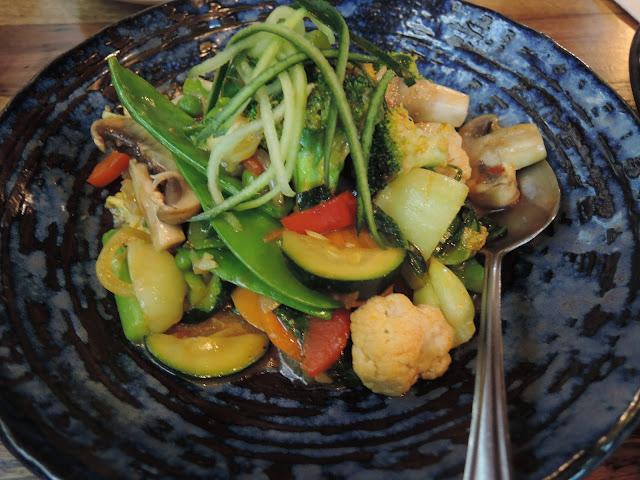 tsel nazom; stir fried vegetables; tibetan food;  shimbu