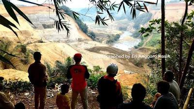 Bendungan Leuwi Keris layaknya obyek wisata baru.