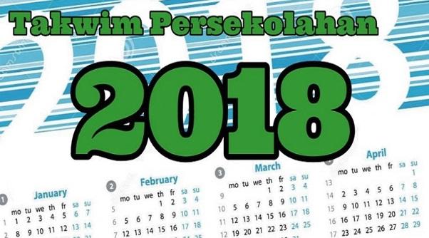 Kalendar Cuti Sekolah Tahun 2018 KPM