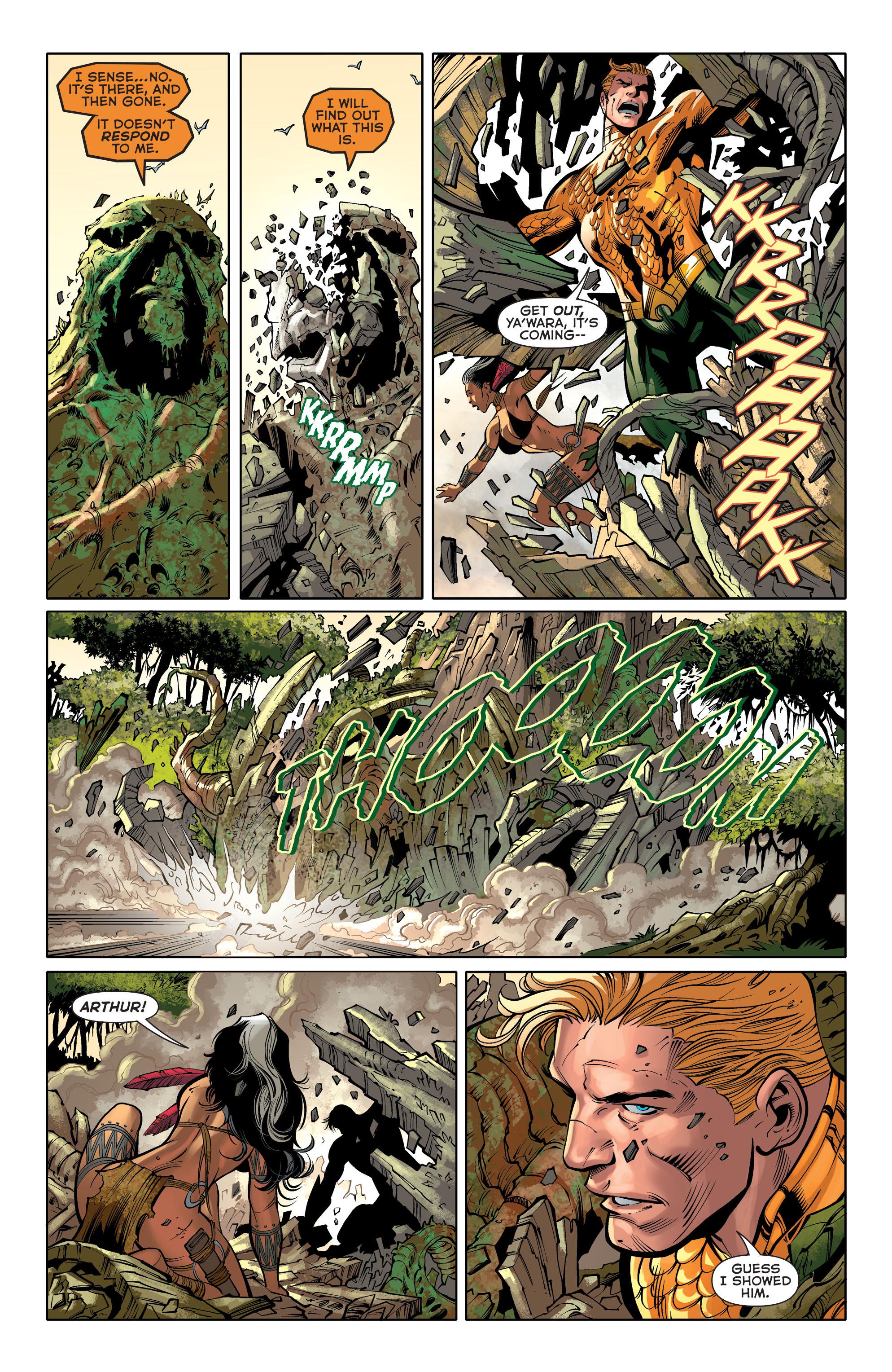 Read online Aquaman (2011) comic -  Issue #31 - 18