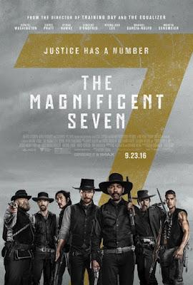 The Magnificent Seven 2016 DVD9 R1 NTSC Latino