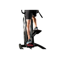 "10"" vertical climbing path & 5"" horizontal elliptical path on ProForm Cardio HIIT Trainer Pro"
