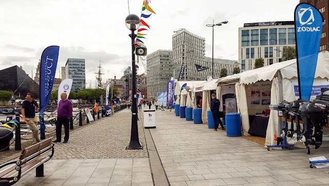 Photo of a quiet start to the Northern Boat Show