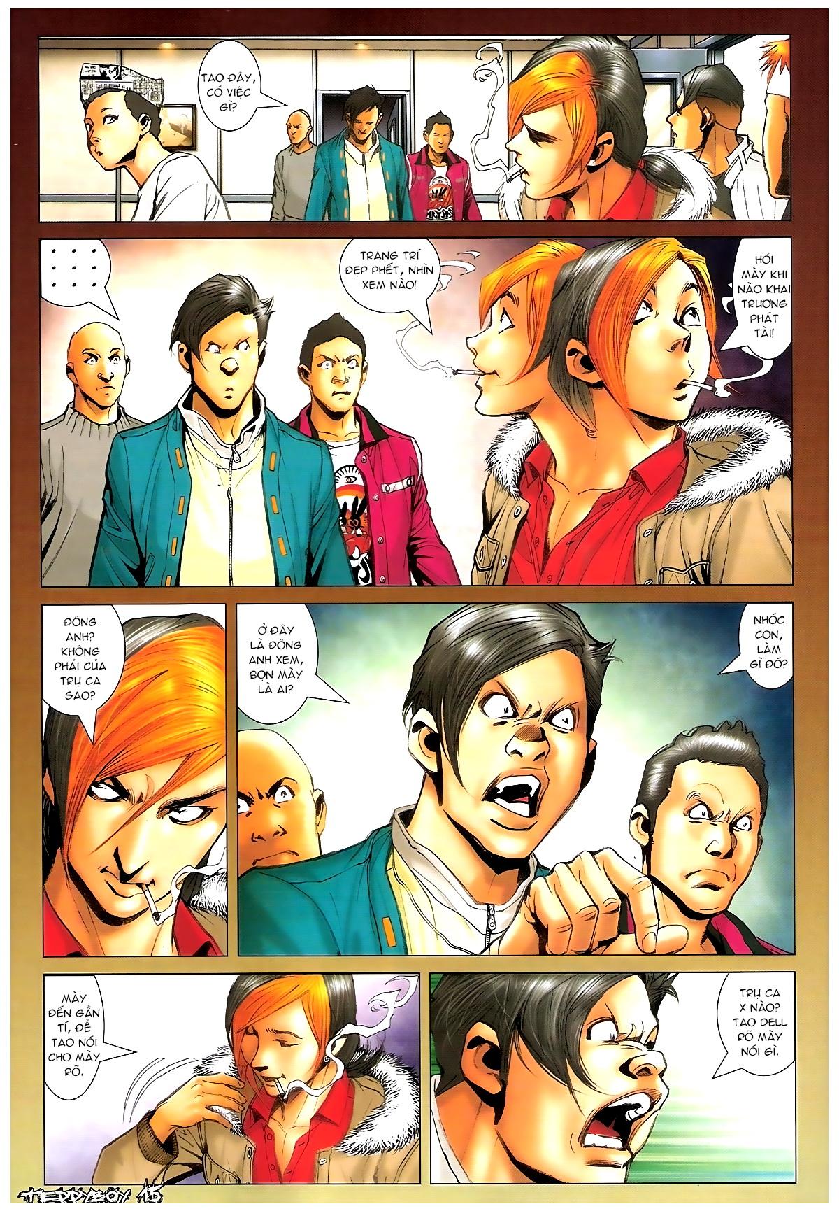 Người Trong Giang Hồ - Chapter 1369: Mê trai gặp Sở Khanh - Pic 14