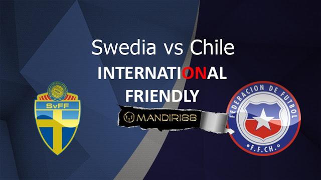 Prediksi Swedia Vs Chile, Minggu 25 Maret 2018 Pukul 00.00 WIB