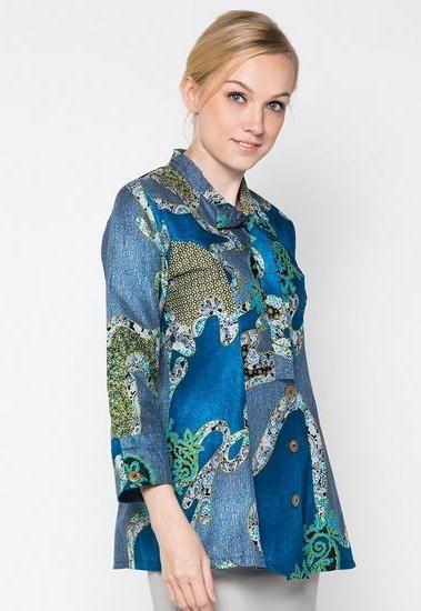 21 Model Baju Batik Anak Muda Jaman Sekarang Terbaru