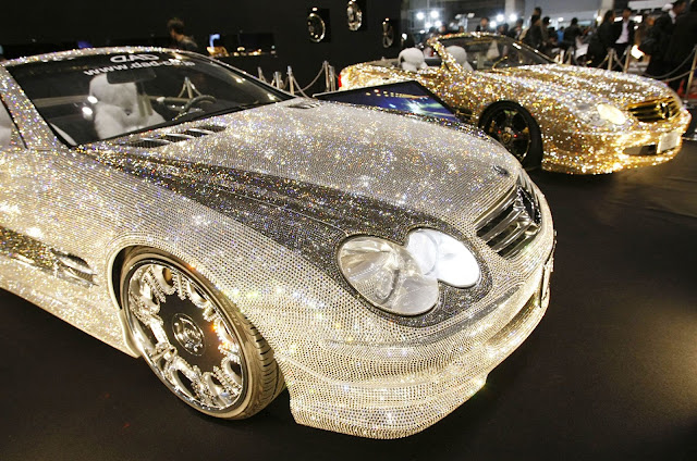 Saudi prince Alwaleed owns a Diamond Encrusted Benz worth N3 Trillion and Charges N100,000 just to TOUCH it {PHOTOS}