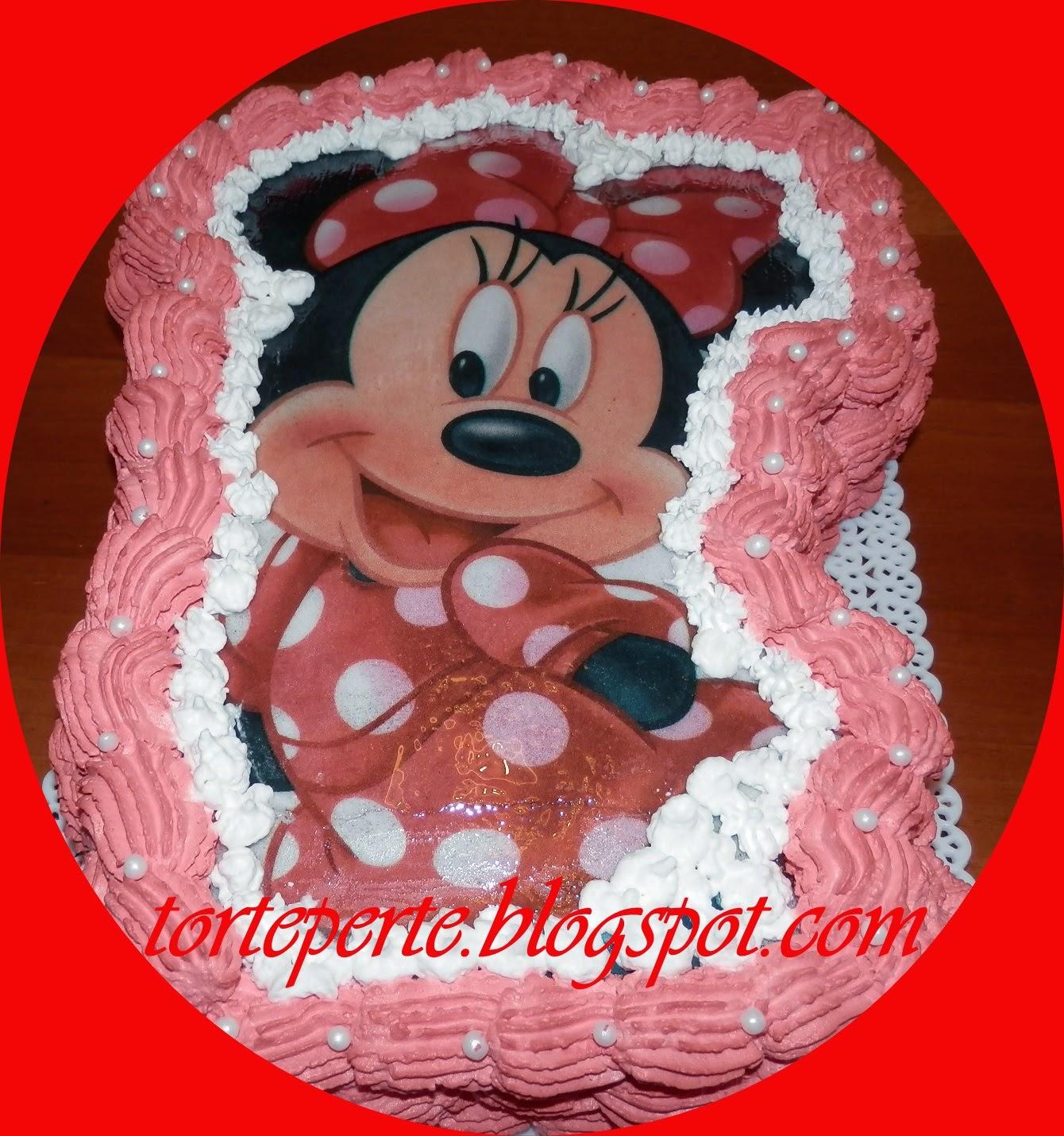 Torte Per Te Torta Minnie