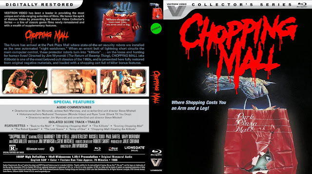 Chopping Mall Bluray Cover