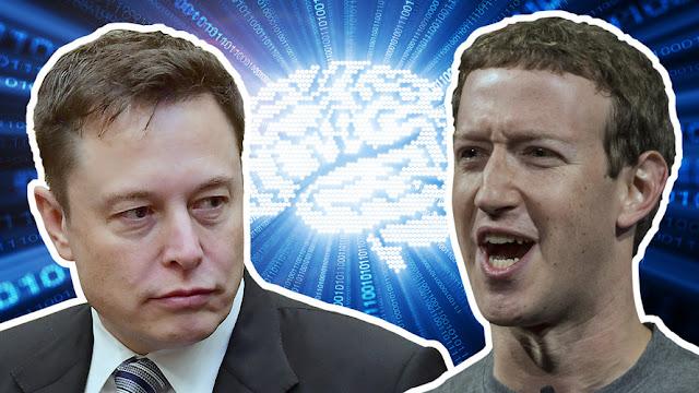 Elon Musk diz que Zuckerberg não entende bem de IA