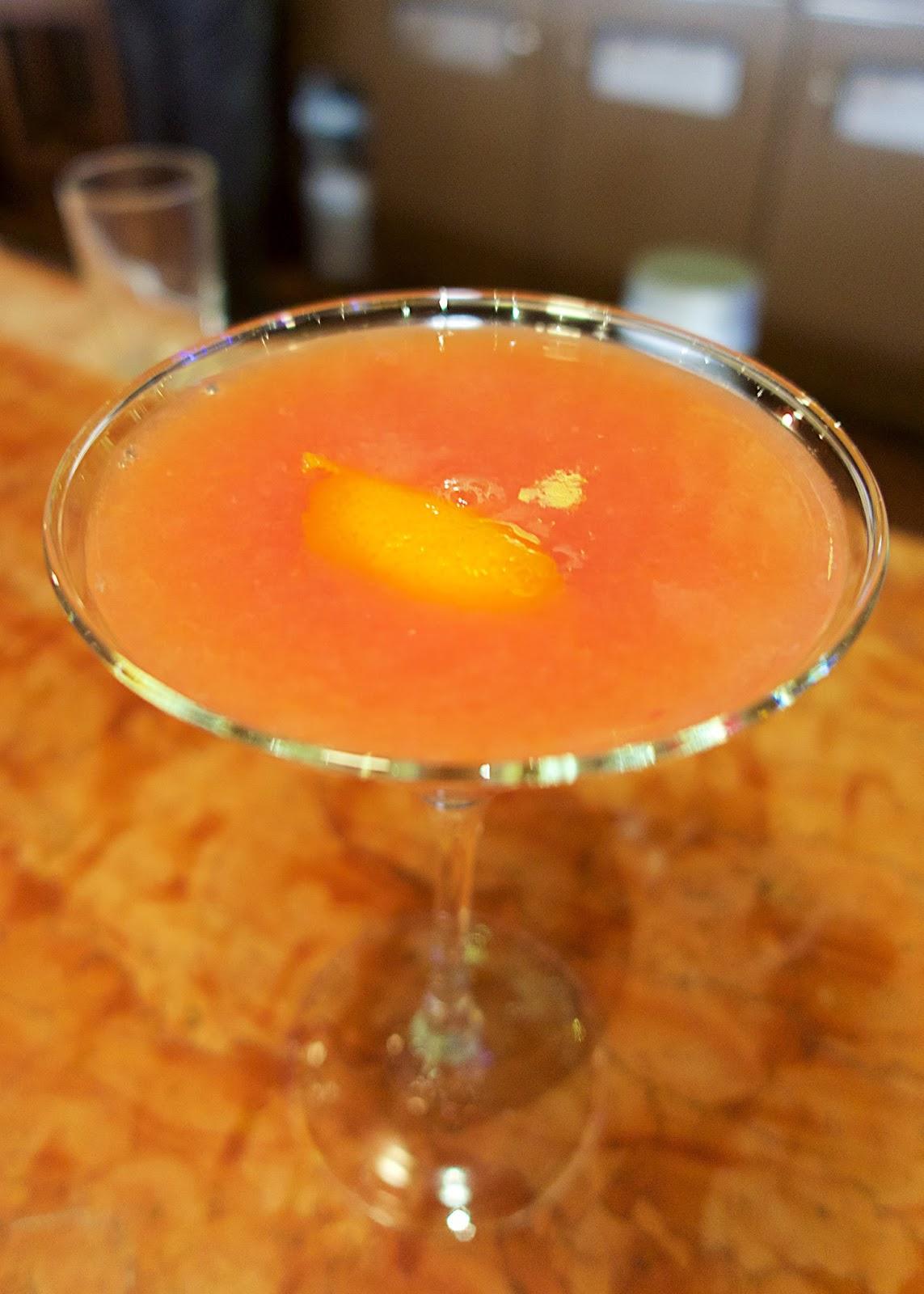 Carnevino - Blood Orange Cosmo