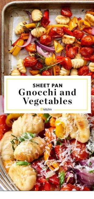 Crispy Sheet Pan Gnocchi and Veggies Recipe