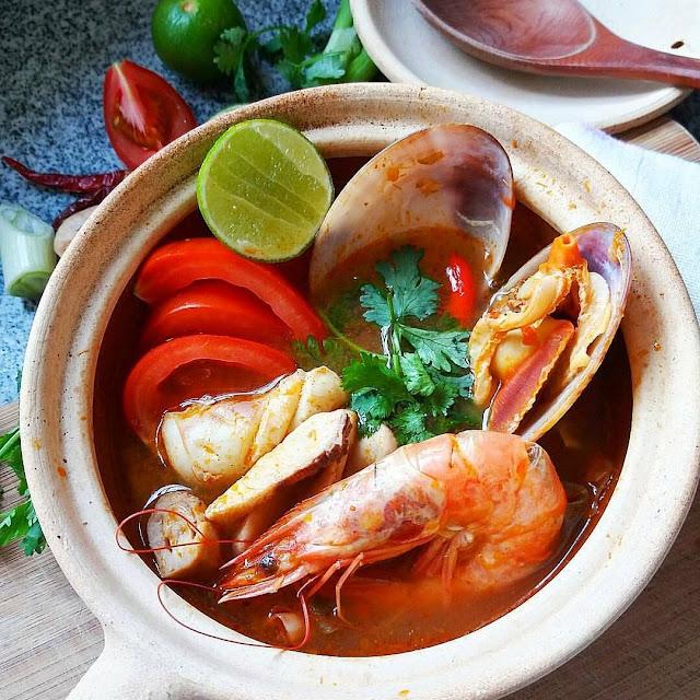 Inilah Resep Cara Membuat Tom Yam Seafood Enak & Lezat