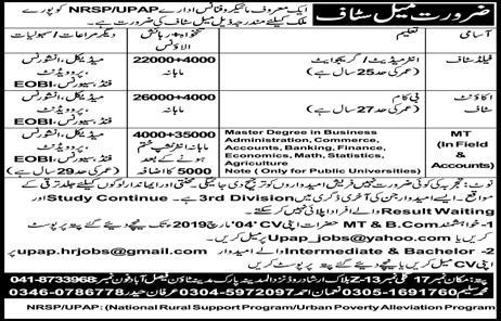 NRSP Bank jobs, NRSP Microfinance Bank Limited Jobs 2019 Feb All Pakistan