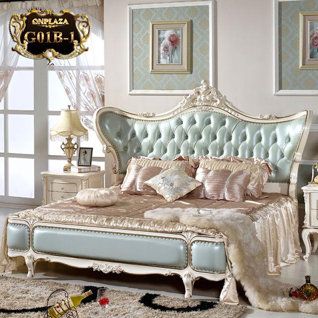 Mẫu giường ngủ cổ điển phong cách châu Âu sang trọng,đẳng cấp