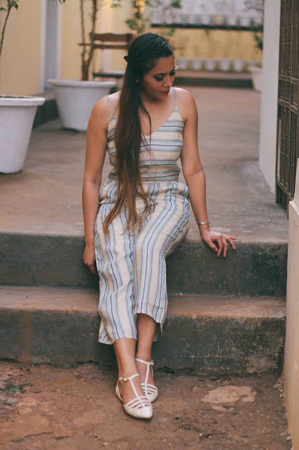 How style jumpsuit, strip jumpsuit, lenin jumpsuit, indian travel blogger, travel blogger, goa travel diary, summer fashion 2017, delhi fashion blogger, fashion, Goa travel diary, Goa outfits, alila diva goa,delhi fashion blogger, best beaches in goa, where to eat in goa, south goa beaches, north goa beaches, goa travel, indian travel blogger, travel bloggers delhi, indian blogger,best of goa,fashiongram,fashionpost,goa,sogoa,Fashion,lookoftheday,ootd,outfitoftheday,outfitpost,blogger,whatiworetoday,indiantravelblogger,Instafollow,goatourism,mygoa,goadiaries,styleblogger,instadaily,pickmygoapick,igers ,gforgoa #photooftheday,escape2goa,lovemyjob