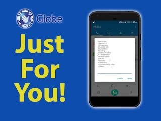 Globe Just For You – Discounted Call, Text and Internet Promo