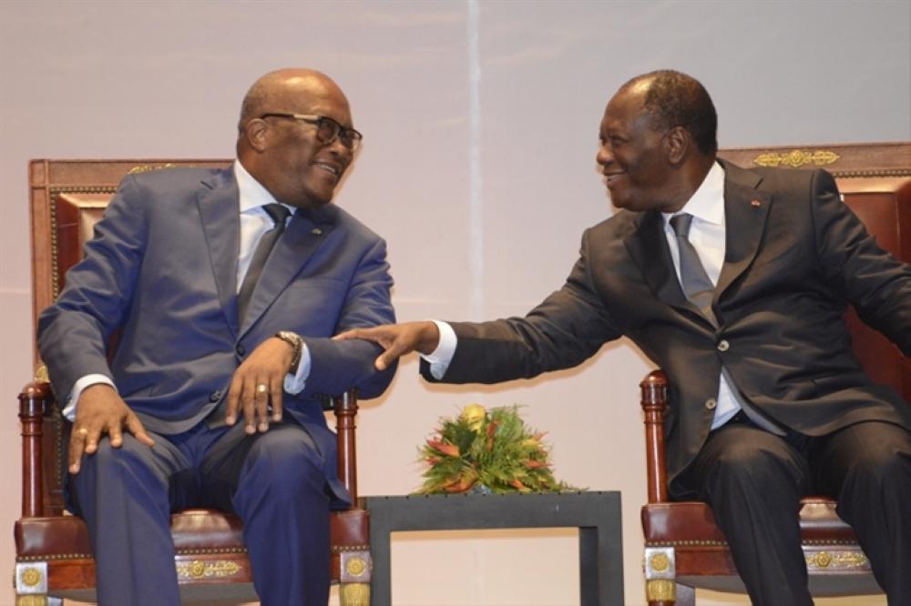 Voici les 13 accords signés à Yamoussoukro entre la Côte d'Ivoire et le Burkina