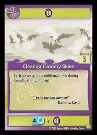 My Little Pony Clearing Gloomy Skies GenCon CCG Card