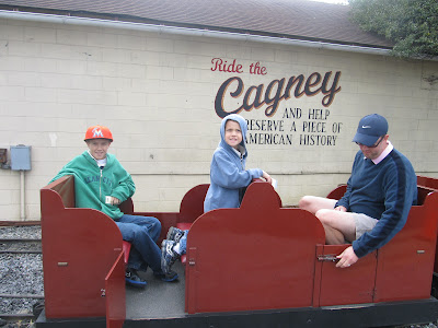 Family Travel to Strasburg Railroad