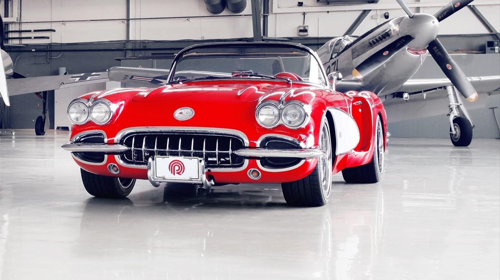 Vintage Corvette 49