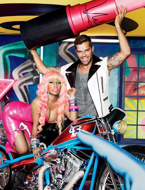 Ricky Martin e Nicki Menaj em parceria com a MAC para linha Viva Glam