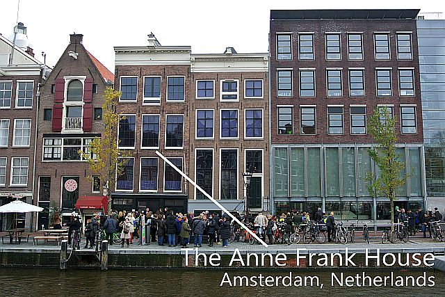 Travel Better With Bob Taylor: The Anne Frank House in ...