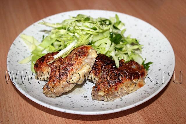 рецепт пп курицы в кефире в духовке