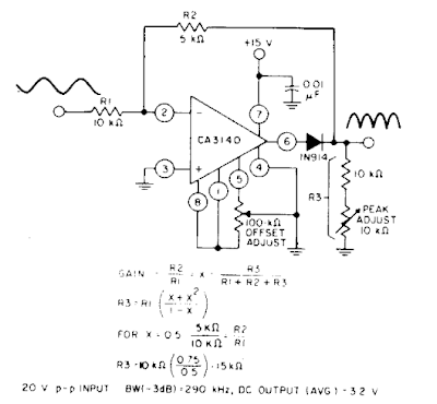Full Wave Rectifier Circuit Diagram