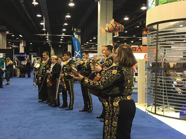 The sounds of a mariachi band at the Travel and Adventure Show