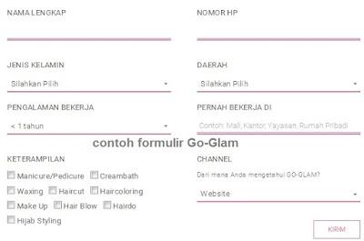 formulir pendaftaran online gojek, formulir pendaftaran gojek, form pendaftaran gojek