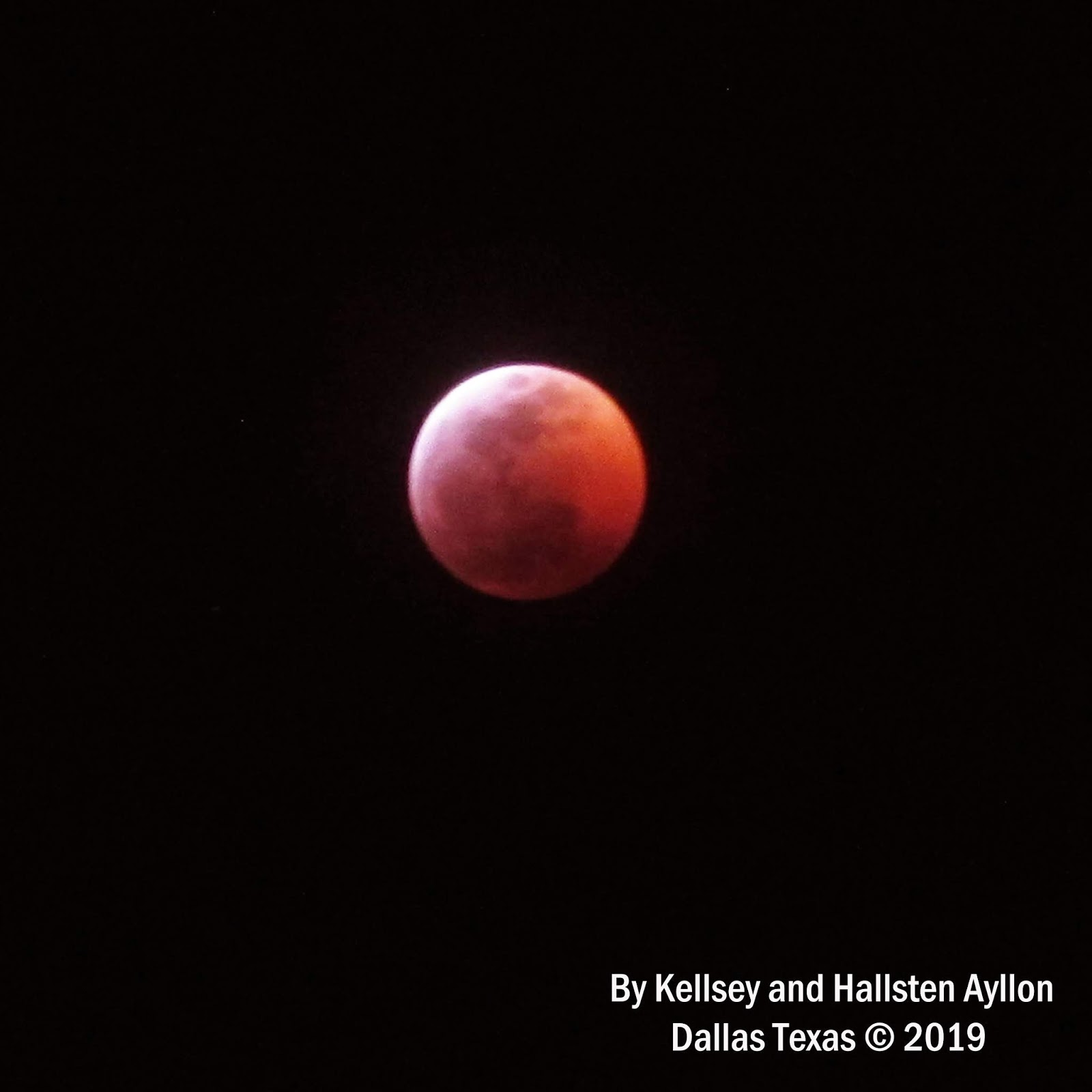 blood moon january 2019 dallas tx - photo #22