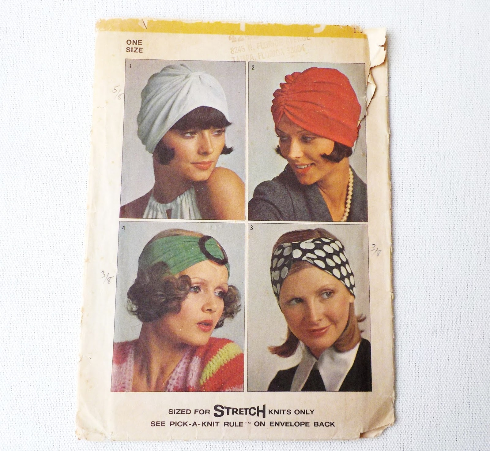 OnePerfectDay  Vintage Turban Patterns 2434c6dd553