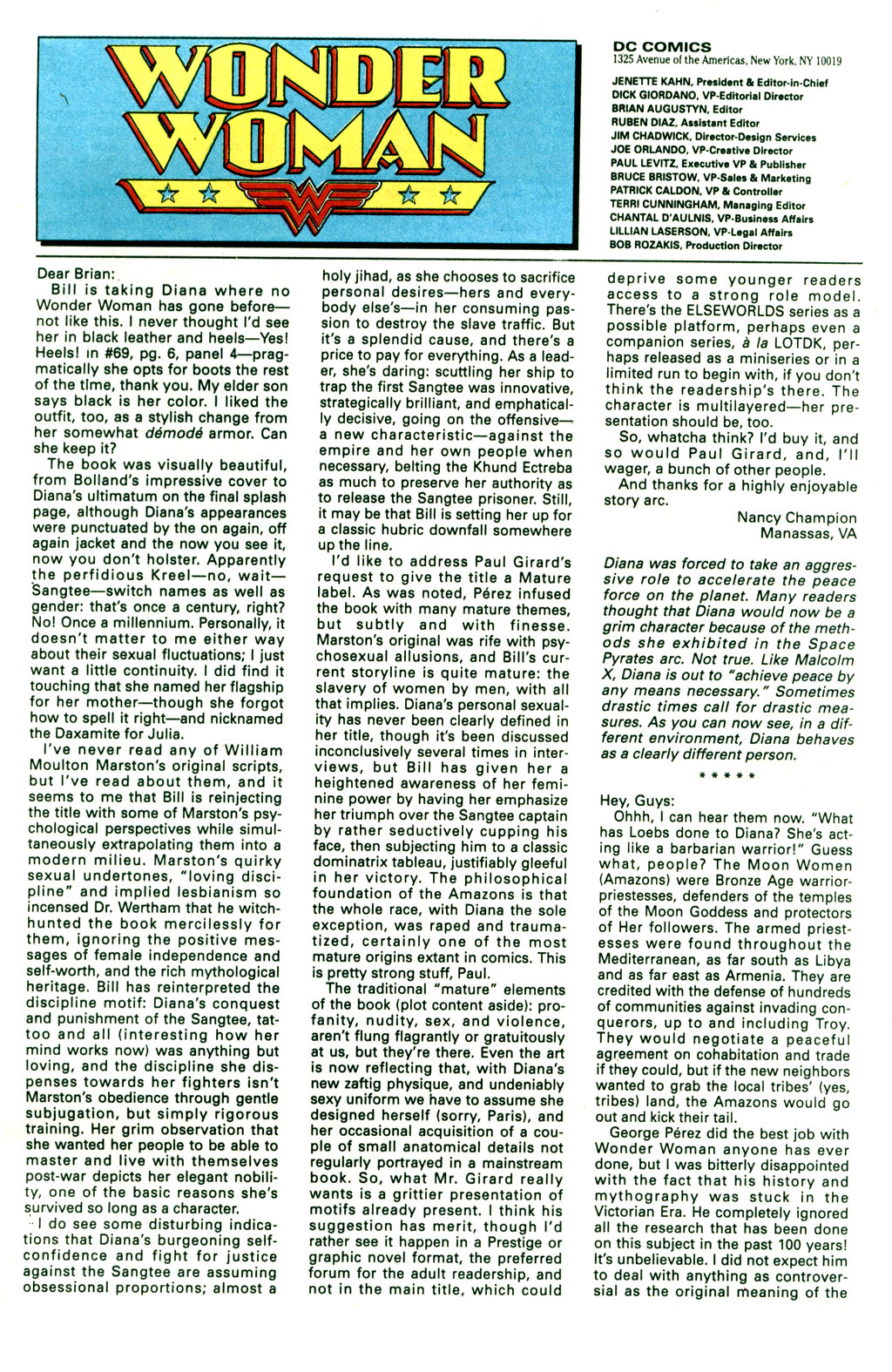 Read online Wonder Woman (1987) comic -  Issue #73 - 25
