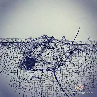 Stinkbug-Inktober-2ndWeek-HuesnShades