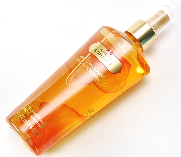 90deff808f HealtZeee  Victoria s Secret Amber Romance Fragrance Mist – Review