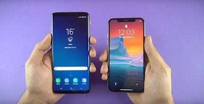 Bài test hiệu năng của Galaxy S9+ và iPhone X - 222861