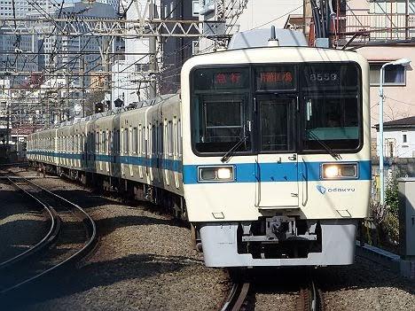 【ダイヤ改正で消滅!】小田急電鉄 急行 片瀬江ノ島行き3 8000形(2018年までのEXPRESS表示)