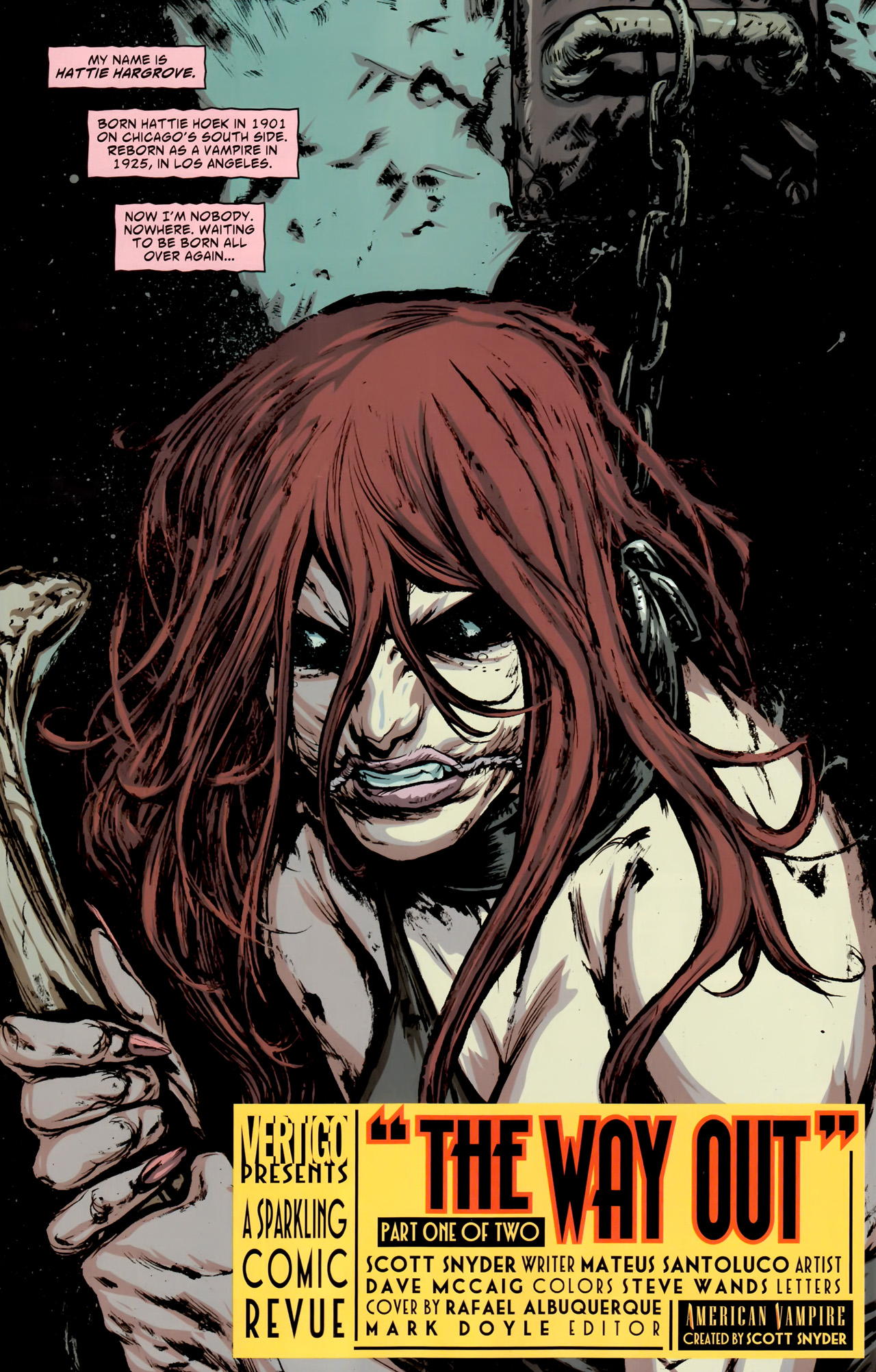 Read online American Vampire comic -  Issue #10 - 3