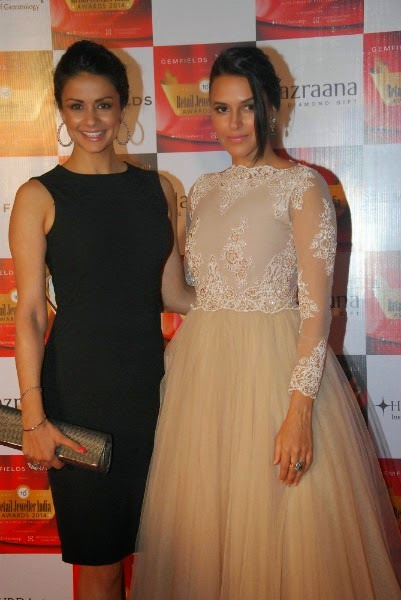 Gul Panag and Neha Dhupia