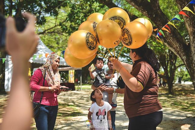 Balloons for kids @ Taman Tasik Shah Alam